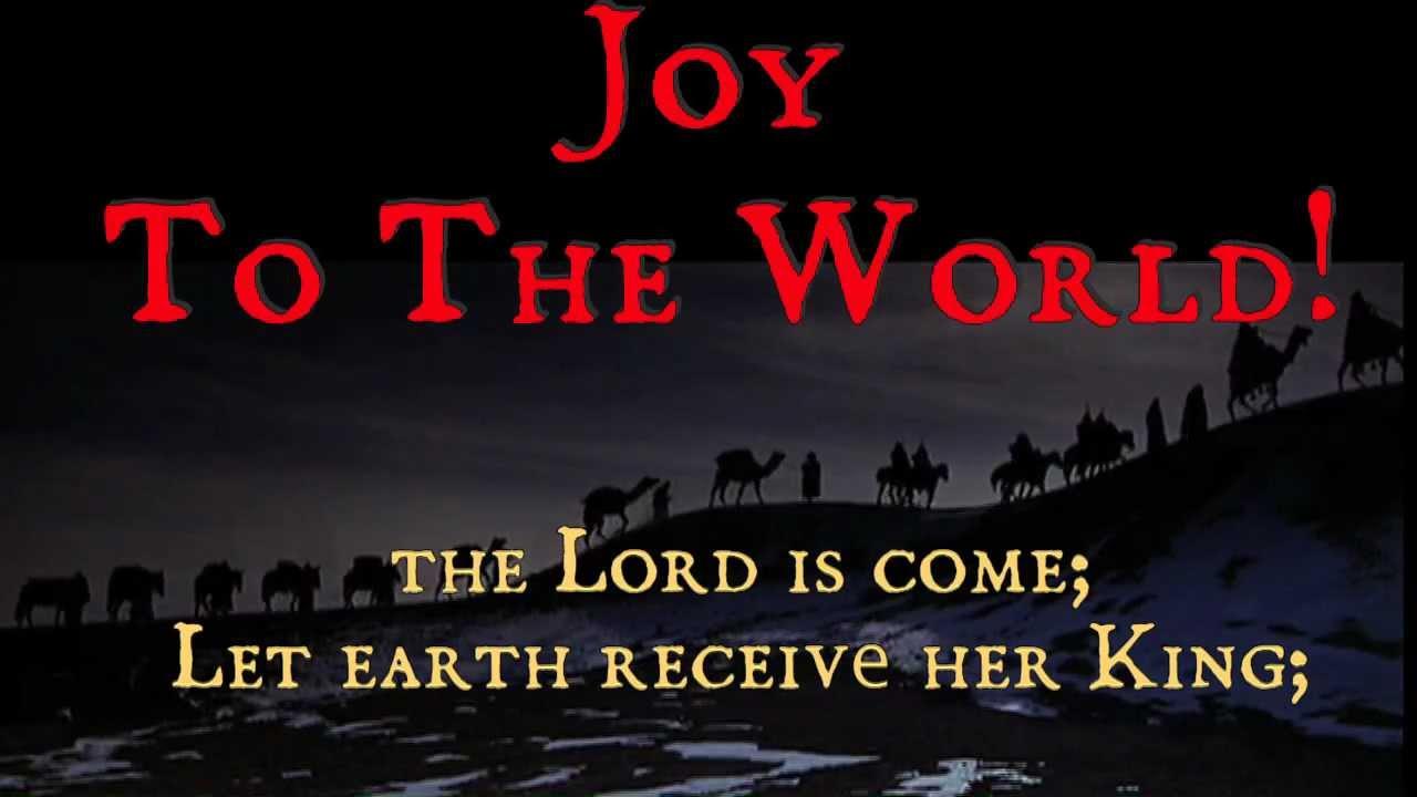 Joy To The World! (with Lyrics) Traditional Christmas Carol - YouTube