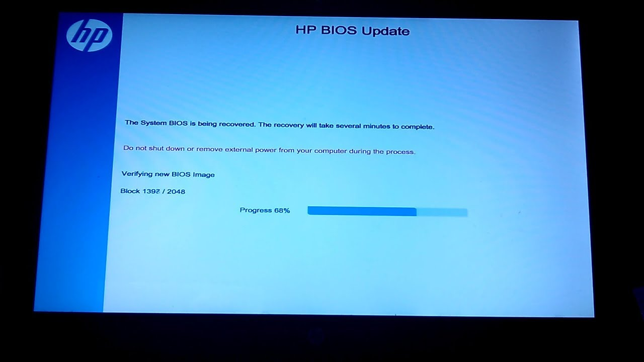Attempted Bios Recovery And Bios Recovery Failure Hp 15 F033wm