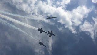 Blue Angels Pensacola Beach Airshow 2016