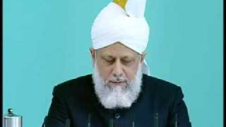 Friday Sermon: 25th September 2009 - Part 5 (Urdu)