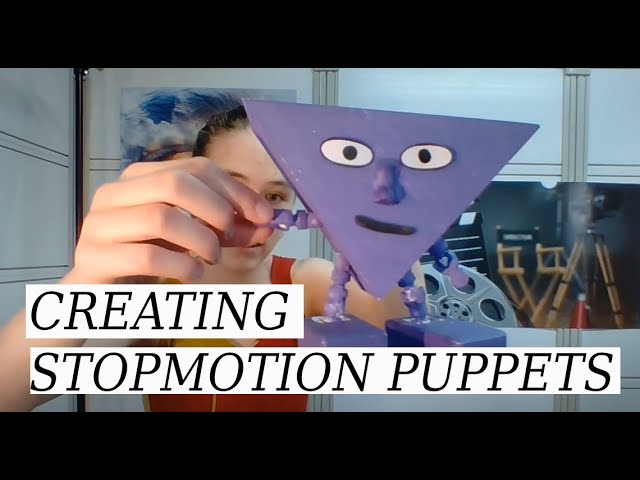 Making stop motion puppets