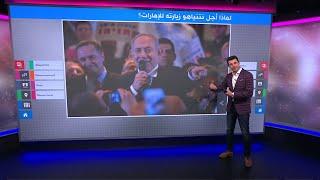إلغاء رحلة نتانياهو إلى الإمارات بسبب صعوبة مرور طائرته في أجواء الأردن! 🇯🇴