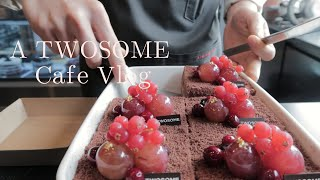 [ENG] Cafe Vlog | 탱글탱글한?케익이 있는…