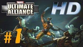 Marvel: Ultimate Alliance - Parte 1 (PC Español)