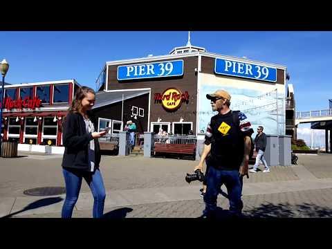 BigRigTravels LIVE! From San Francisco, California fisherman's wharf-Mar. 8, 2018