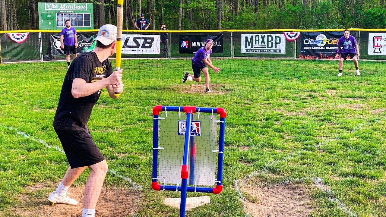 PREDATORS vs. MAGIC   MLW Wiffle Ball 2021