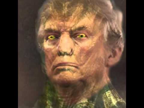 Donald Trump Shape-Shifting Reptilian Humanoid