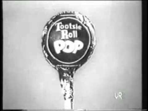 Tootsie Roll Pops Commercial 1950s