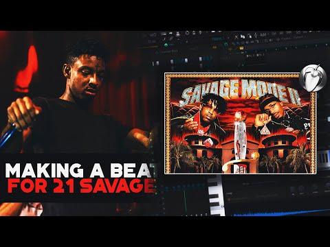 How to Make Dark Beats for 21 Savage & Metro Boomin (Savage Mode 2)   FL Studio Tutorial