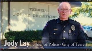 Terrell Texas Police Department Tour