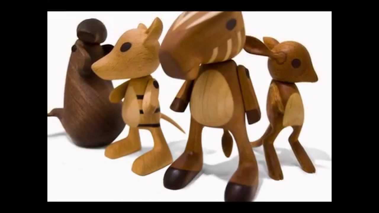 Деревянные игрушки своими руками. - YouTube