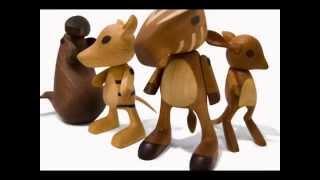 видео Как сделать деревянные игрушки своими руками для детей?