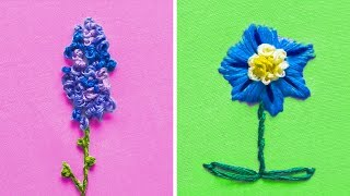 17 CUTE EMBROIDERY TIPS FOR CHILDREN