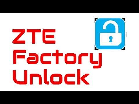 How to Factory Unlock a ZTE using unlock code