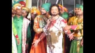 Shivputra Shambhu raje Dr. Amol Kolhe Maha natya last scene