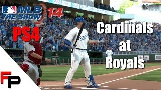 MLB 14 The Show - PS4 - St. Louis Cardinals at Kansas City Royals