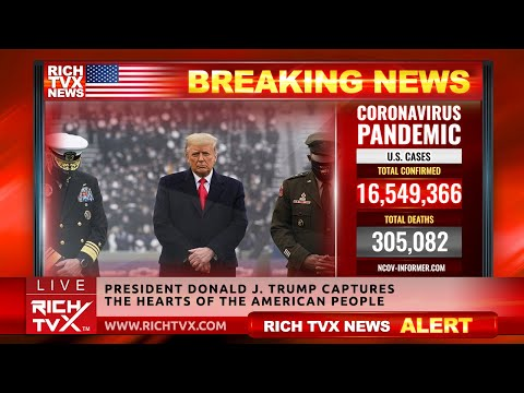 President Donald J. Trump Captures The Hearts of the American People – Rich TVX News