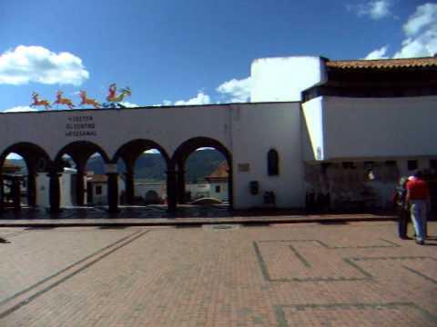 Central Square - Guatavita - Colombia - January 2011