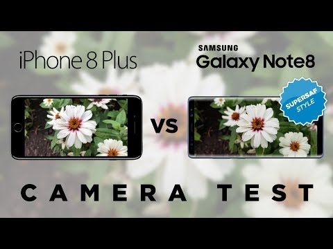 iPhone 8 Plus vs Galaxy Note 8 Camera Test Comparison