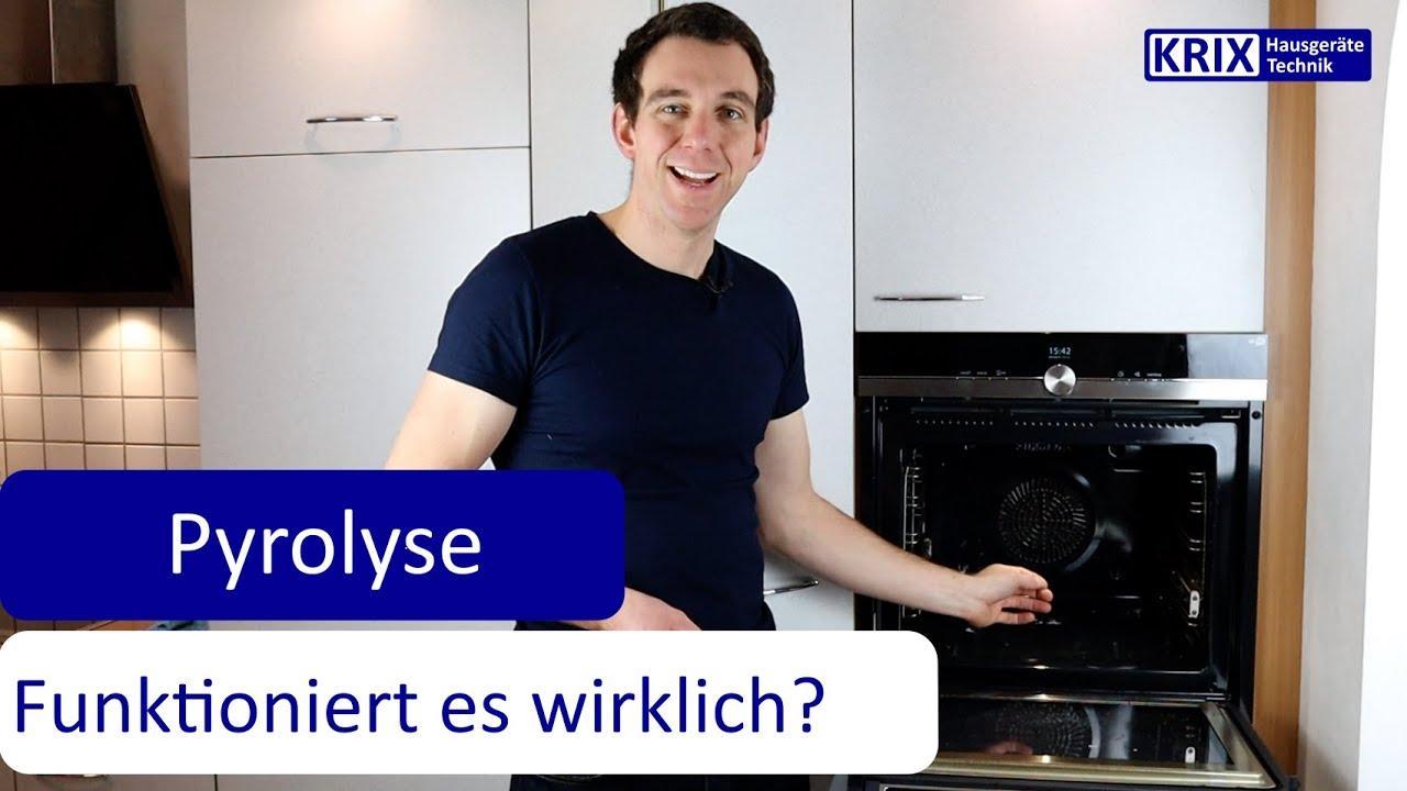 Download Pyrolyse - Funktioniert die Selbstreinigung mit Pyrolyse im Backofen wirklich?