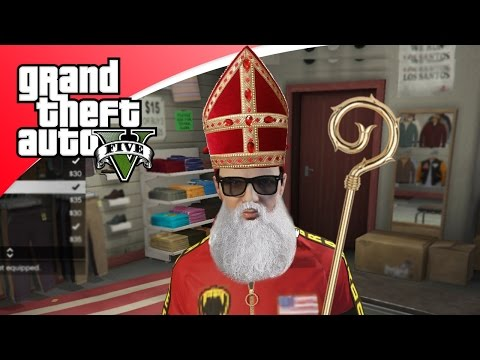 GTA V Freeroam - SINTERKLAAS IN GTA! (GTA 5 Online)