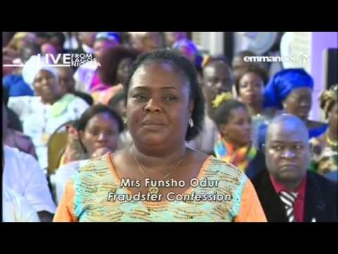 SCOAN LIVE SERVICE SUNDAY 26 02 2017 CONFESSION OF SCAMMER FUNSHO ODUM  VIDEO 7 OF 12