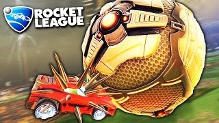ИГРАЕМ В ФУТБОЛ С ГИГАНТСКИМ МЯЧОМ БЕЗ ГРАВИТАЦИИ В ROCKET LEAGUE