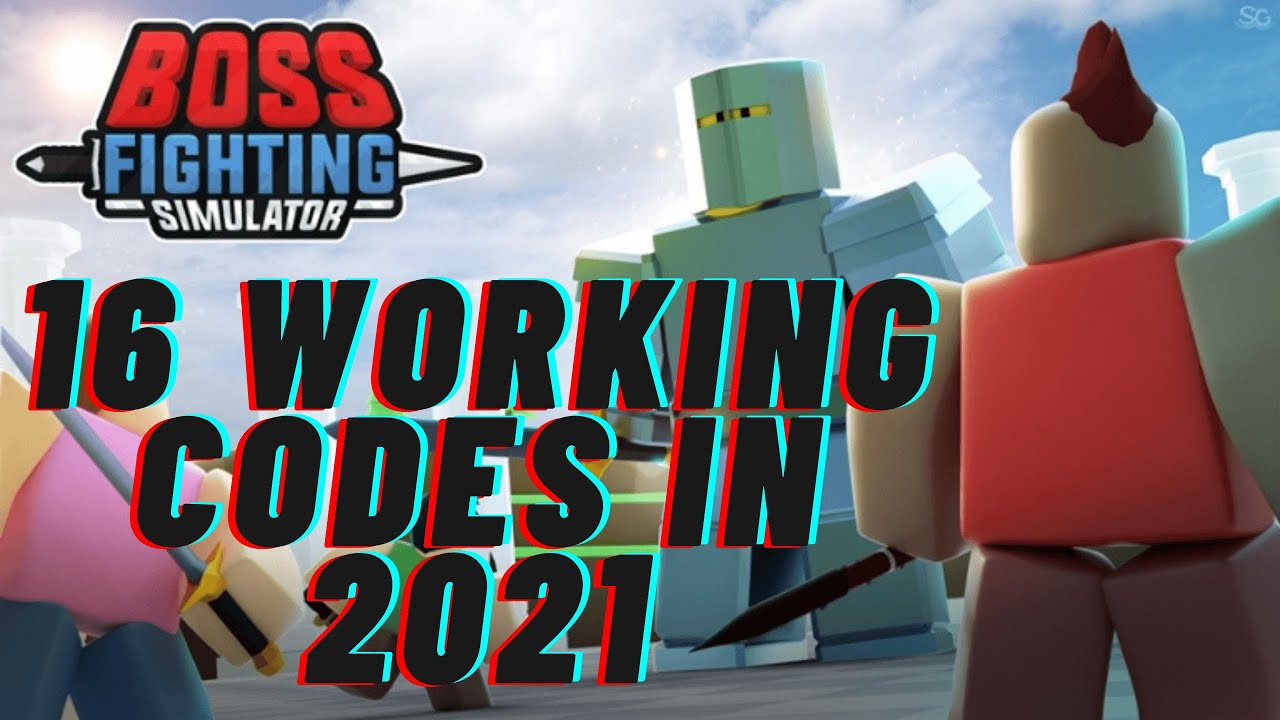 All Working Codes For Boss Fighting Simulator in 2021