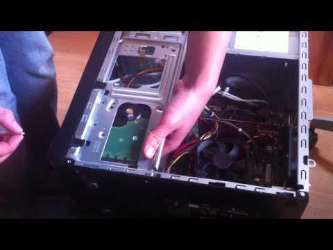 Comment changer son disque dur d'ordinateur / Remplacer le disque dur d'une unité centrale
