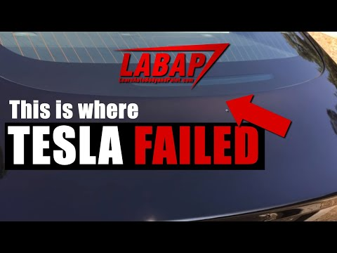 😢 POOR Car Paint Jobs on Tesla Model 3 Cars Reported! 😲