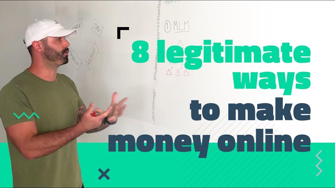 8 [LEGIT] Ways to Make Money Online in 2019