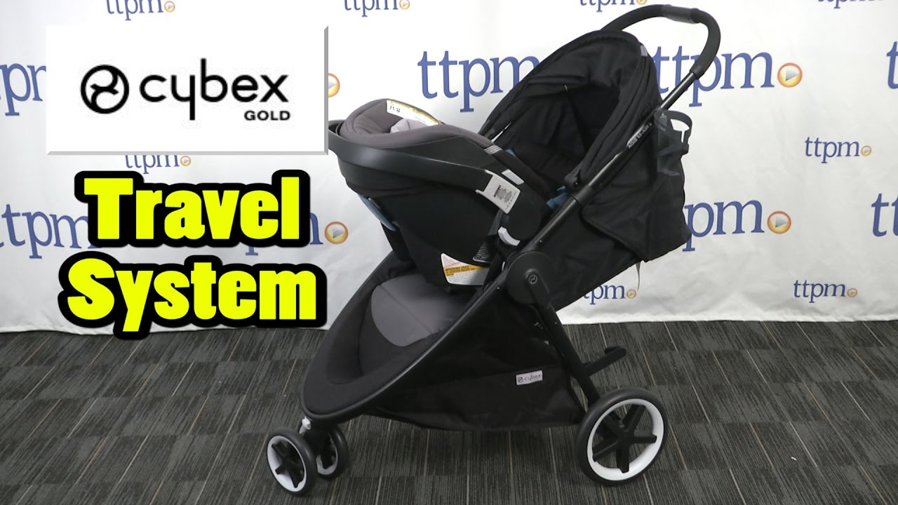 Agis M AIR3 And Aton 2 Travel System From Cybex Gold