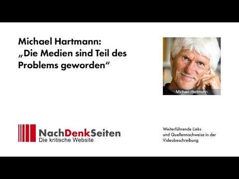 """Michael Hartmann: """"Die Medien sind Teil des Problems geworden"""""""