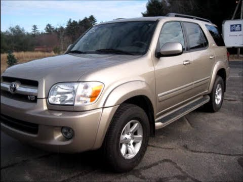 2005 Toyota Sequoia SR5 Start Up, Engine U0026 In Depth Tour   YouTube