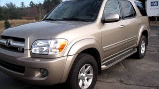2005 Toyota Sequoia SR5 Start Up, Engine & In Depth Tour