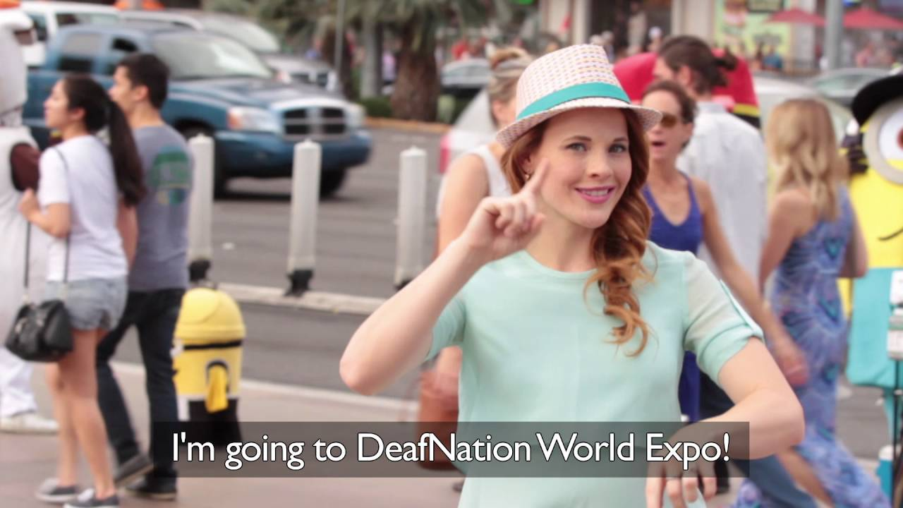 Get Katie's Autograph at DeafNation World Expo! - silent