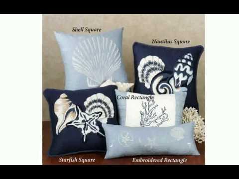 Beach Decor Pillows