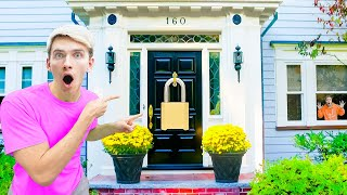 SOMONE LOCKED ME OUT of MY HOUSE!! (Secret Note Revealed)