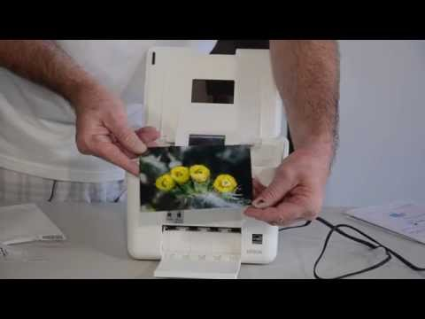 Epson PM 225 PictureMate Charm Printer Unboxing and First Print