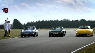 British sports cars challenge | Top Gear | BBC