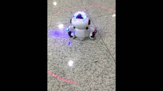 Electric Smart Space Walking Dancing Robot Children Kids Music Light Toys @dd4.com