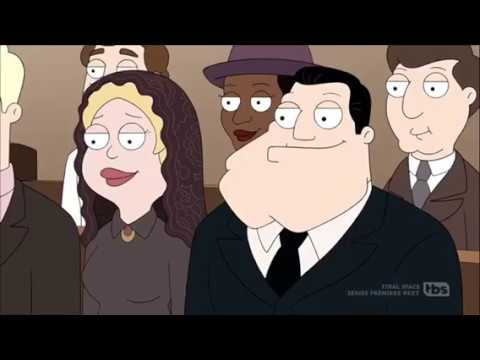 Family Smith becoming Italian immigrants (American Dad / Italo-American Dad / Italian Dad