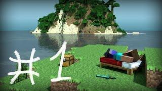 Minecraft на сложном #1 Старт