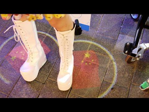 SexyCyborg's Boot Projectors- Bangkok Mini Maker Faire