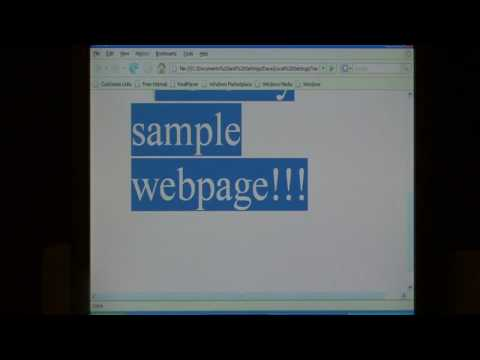Computer Skills & Shortcuts : How To Convert A Microsoft Publisher File To A Web Page