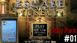 "Escape The Museum - Ruby Edition ""Great Games 4-Pack"" Ep 1"