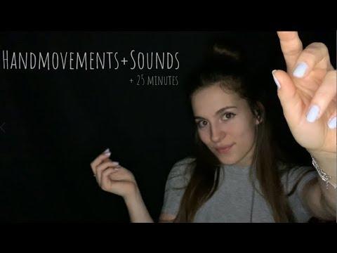 ✨'HANDMOVEMENTS + SOUNDS'✨│TRIGGERWORDS│TiaraASMR