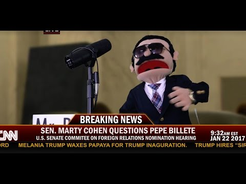 Pepe Billete's Senate hearing for appointment to U.S Ambassador to Cuba