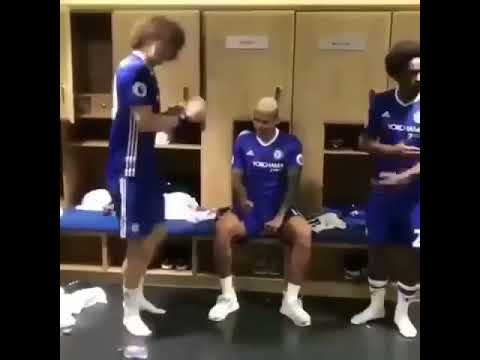 Look at Chelsea players dancing to Olamide's Wo! song