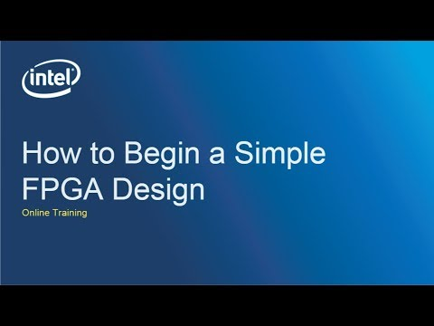How to Begin a Simple FPGA Design